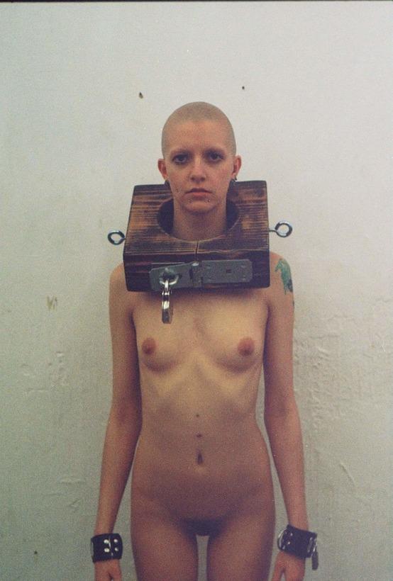 Bald girl fetish
